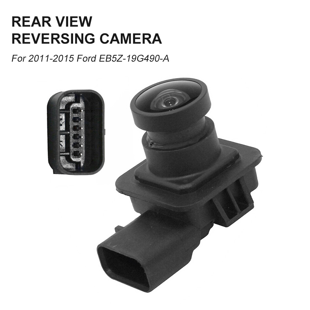 Rear View Backup Camera Reverse Camera Replacement for 2011-2015 Ford Explorer EB5Z19G490A