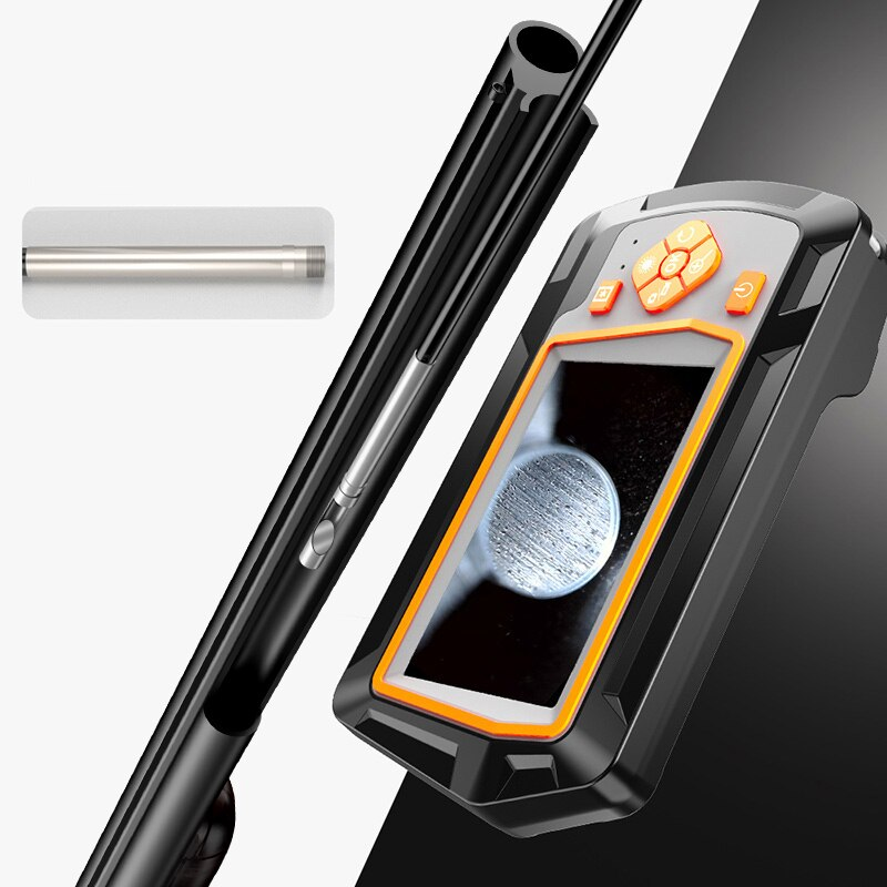 Newest 3.9mm LCD Endoscope Cleaning Visual Inspection Camera 20 Caliber Larger Hunting Shooting Insertion Tube 4.3 inch 1080P