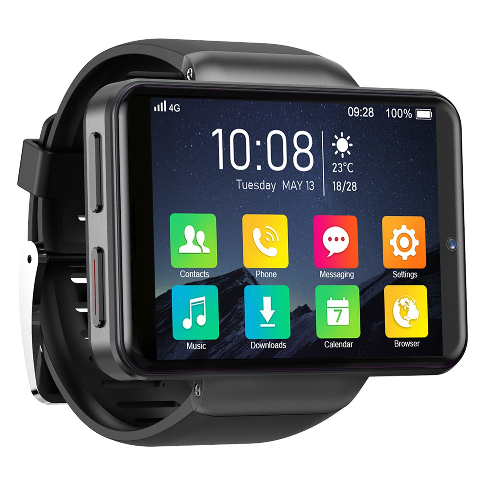 New Unisex Smart Watches MAX S 2.4 Inch 3GB+32GB LCD 2000MAH Smartwatch For Android 7.1 4G Phone Outdoor Sport Waterproof Watch