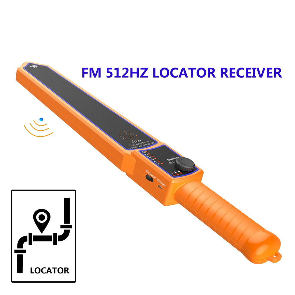 MAOTEWANG Sewer pipe detection device 512hz pipe inspection camera receiver pipe Locator for Pipe Inspection