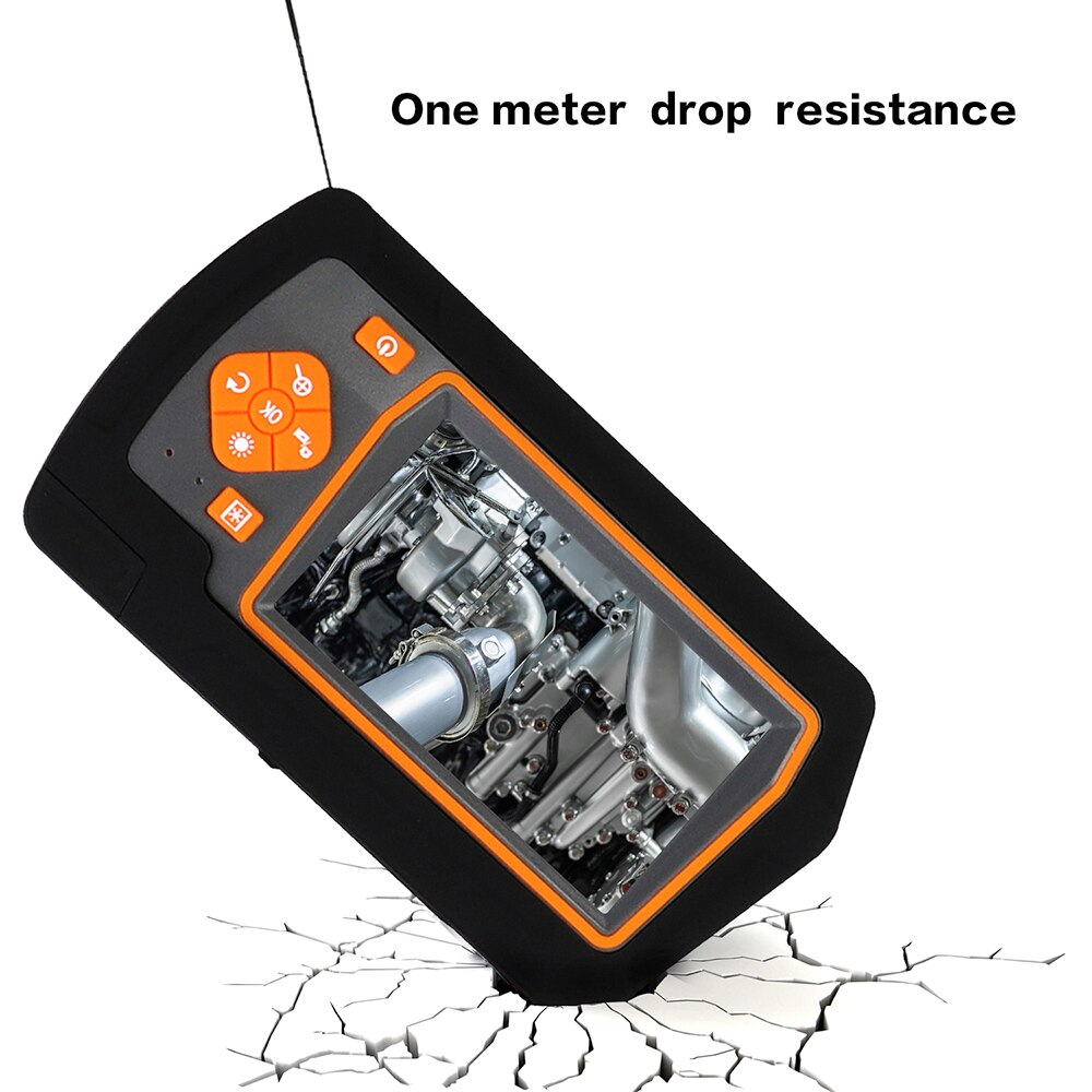 1080P HD Industrial digtial Endoscope IP67 Waterproof inspection Camera  Engine Drain Pipe Camera borescope with 32GB TF Card