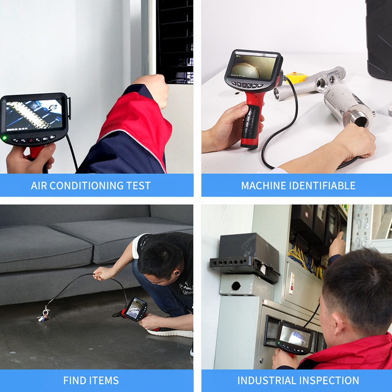Digital Inspection Camera with 4.3